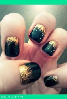 Fall Glitter  - Nail | Вера И.'s Photo | Beautylish
