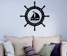 Wheel Steering Ship Boat Logo Sign Bathroom Sea Ocean Wall Vinyl Decal Art Sticker Home Modern Stylish Interior Decor for Any Room Smooth and Flat Surfaces Housewares Murals Graphic Bedroom Living Room (2469) stickergraphics http://www.amazon.com/dp/B00IED8BOC/ref=cm_sw_r_pi_dp_EfuWtb0QNSF4V8Y0