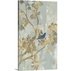 Found it at Wayfair - Bird by Asia Jensen Painting Print on Canvas