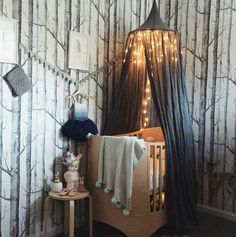 Enchanted Forest Nursery - Adorable Nursery Ideas from Instagram - Photos