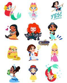 Its World Emoji Day! How many of you with IOS use the Disney emoji keyboards?! I have them all. #worldemojiday #disneyemoji #chipandco