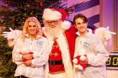 Britt Dekker & Ralf Mackenbach strijden voor het Bio Vakantieoord bij de Sky Radio Christmas Tree For Charity 2013
