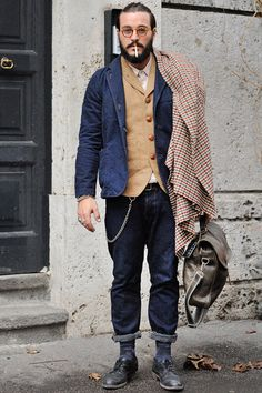 Streetstyle Inspiration for Men! #WORMLAND Men's Fashion | Double Layering @Snobtop