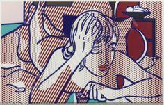 Roy Lichtenstein - Thinking Nude (1994)