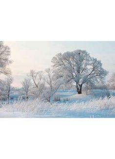 Banner Frostlandschaft 180x270 cm (L/B)