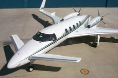 Beechcraft Starship. A little out of place on this board, but daaannggg...