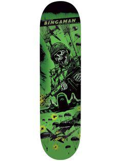 Creature Give Em' Hell Skateboard Bingaman is my fave out of the series Creature Skateboards, Creature Decks, Skateboard Deck Art, Snowboard Equipment, Skate And Destroy, Skate Art, Skate Decks, New Pins, Ems