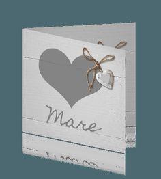Geboortekaartje Mare