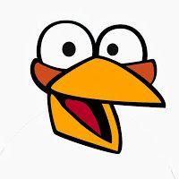 Żółty balonik: Angry Birds