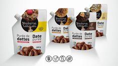 Purée de dattes Madame Labriski – Madame Labriski Galette, Coconut Water, Biscuits, Muffins, Breakfast, Desserts, Food, Table, Dates