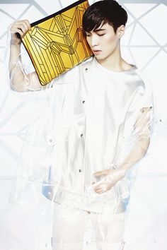 150430 MCM X EXO BIONIC SERIES - Lay cr. mcmworldwide -Mei
