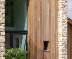 Vertical timber cladding options The Fosse by Designscape Architects Stone Cladding, Timber Cladding, Types Of Timber, External Cladding, Old Victorian Homes, Contemporary Barn, Roof Extension, Sustainable Furniture, Timber House