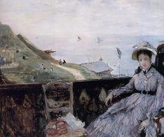"Berthe Morisot – ""On the Terrace"" 1874"