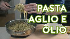 "Binging with Babish: Pasta Aglio e Olio from ""Chef"" -- Wow. This looks delicious! Pasta. Olive oil. Lemon juice. Red pepper flakes. Garlic. Parsley. Add cheese & some meat and call it a day. -- http://Text2Cash.YourWay4Success.net/"