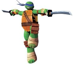 Leonardo, often referred to as Leo, is the leader of the Mutant Ninja Turtles and the oldest of the brothers, who all share a home in the sewers of New York City. Leonardo belongs to a diverse family consisting of three other mutant turtles who are his brothers: Donatello, Michelangelo, and Raphael; and the ratlike Splinter, who serves as the Turtles' adoptive father and sensei. Due to his persevering dedication towards ninjutsu, (and partly because he asked for it), Splinter chose Leonardo…