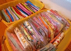 Lots of Fabric Storage Ideas – Organize It!