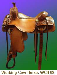 Jerry Shaw Working Cow Horse Saddle: WCH-09
