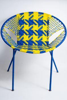paire de chaises scoubidou 1950 take a seat pinterest. Black Bedroom Furniture Sets. Home Design Ideas