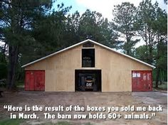 Image result for Shipping Container Barn Plans