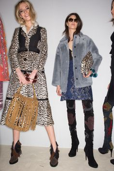 Fall winter 2015 trends - 70's. Burberry Prorsum FW 2015 collection.