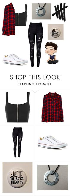 """5SOS Concert❤"" by wildflower257 ❤ liked on Polyvore featuring WearAll, Rails and Converse"