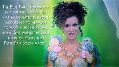 """Blue's going to show her true colors. 