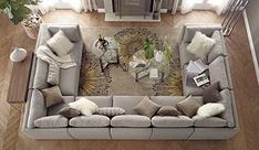 Moda 9-Piece Sectional Sofa... (shawnette) My sectional for our new home...GORGEOUS.... PLENTY OF SEATING SPACE