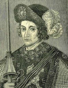 Edward, Duke of Cornwall and Prince of Wales and Aquitaine. Eldest son of King Edward III, born at the Palace of Woodstock, Oxfordshire. In his lifetime he was known as Edward of Woodstock; the soubriquet 'Black Prince' developed after his death and was probably derived from the colour of his armour. Popular in his time and renowned as a military leader, winning victories over the French at the battles of Crécy and Poitiers. His son was Richard ll.