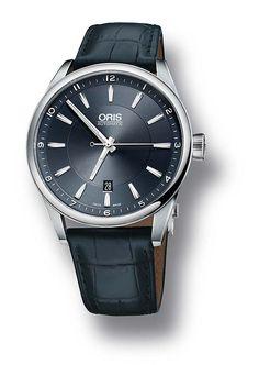 @oris Artix Date Blue. A WatchTime review- 5 Oris Watches Under $2,500. http://www.watchtime.com/wristwatch-industry-news/watches/affordable-oris-5-oris-watches-under-2500/ #watchtime #oris