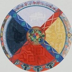 The four directions of the sacred hoop. #medicinewheel
