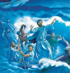 Christ has the power to calm a storm, perfect weather in the New World.