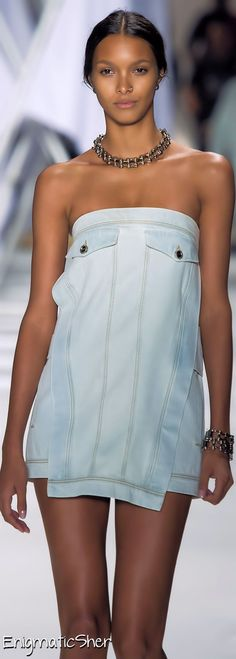 ELLUS JEANS DELUXE  READY-TO-WEAR  SPRING-SUMMER 2015