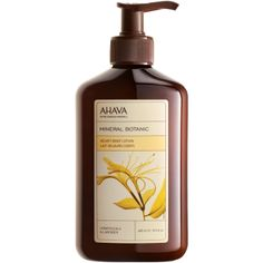 MINERAL BOTANIC BODY LOTION - HONEYSUCKLE & LAVENDER A luxurious lightweight lotion infused with natural botanicals to soothe and moisturize skin.