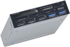 "Akasa AK-ICR-17 - Lector (CF, MicroDrive, microSDHC, MMC, SD, SDHC, SDXC, 88.9 mm (3.5 ""), USB 3.0, Gris, Windows 2000 / XP / VISTA / 7) B0088NNLXO - http://www.tabletsprecios.com/akasa-ak-icr-17-lector-cf-microdrive-microsdhc-mmc-sd-sdhc-sdxc-88-9-mm-3-5-usb-3-0-gris-windows-2000-xp-vista-7-b0088nnlxo.html"