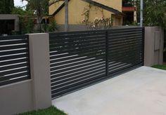Garden Fence Panels, Lattice Fence, Front Yard Fence, Fenced In Yard, Fence Plants, Dog Fence, Rail Fence, House Front Gate, Front Gates