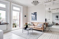"""The color of your home can have a profound impact on your mood and well-being. """"Calm, soothing colors such as white and gray or earthy tones are great for forming the basis of a beautifully..."""