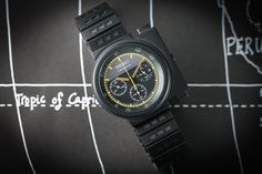 For sale at The Chrono Duo. Seiko Ripley. The Alien's watch.