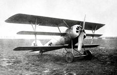 A German Pfalz Dr.I single-seat triplane fighter aircraft, ca. 1918. (San Diego Air and Space Museum Archive)
