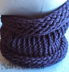 Infinity scarf. Double stranded one color. Feb 9th date