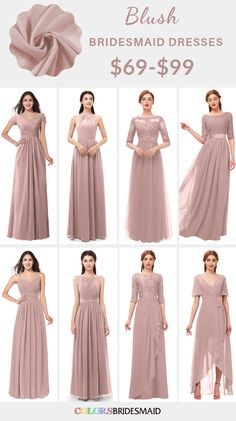 Blush and Burgundy September Wedding Blush Bridesmaid Dresses Dress Brokat Modern, Kebaya Modern Dress, Kebaya Dress, Dress Pesta, Dress Brukat, Hijab Dress Party, The Dress, Batik Dress, Blush Bridesmaid Dresses