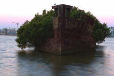 Abandoned ship, Homebush Bay, Australia 1024x683 [OC] - Imgur