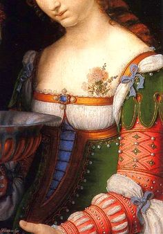 Andrea Solario | Salome with the Head of John the Baptist (detail) | 1520/24