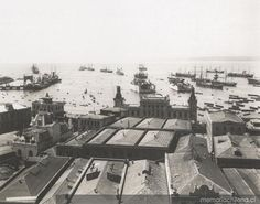 Bahía de Valparaíso, ca. 1900 South America, Paris Skyline, Exterior, Explore, Travel, Historical Photos, 19th Century, Old Pictures, Historia