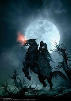 Death the fourth horseman of the Apocalypse.