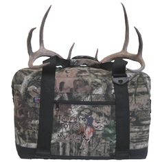 Trophy Totes® is a soft-sided cooler designed to transport the head and cape of an animal from the place of harvest to the taxidermist for mounting purposes - See more at: http://trophytotes.com/product-details/#sthash.YYpwfl2O.dpuf