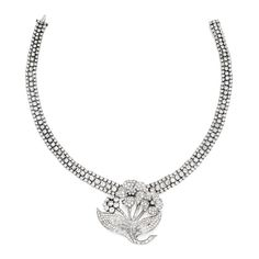 Buy online, view images and see past prices for PLATINUM, GOLD AND DIAMOND NECKLACE. Invaluable is the world's largest marketplace for art, antiques, and collectibles.