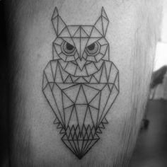 Risultati immagini per geometric owl