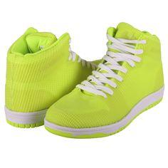 Hoodboyz Glow High-Sneaker neongelb – STYLEKINGZZ