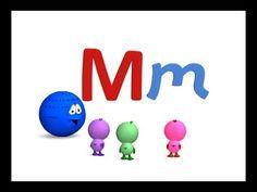 Las vocales A E I O U y la consonante M - Canta Cuento Infantil Educativ...