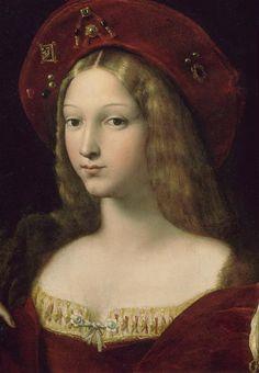 Raffaello Sanzio - Jeanne d'Aragon (detail)